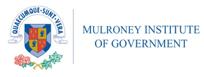 mulroney institute of government logo